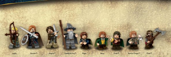 Lego Lord of the Rings megjelenés